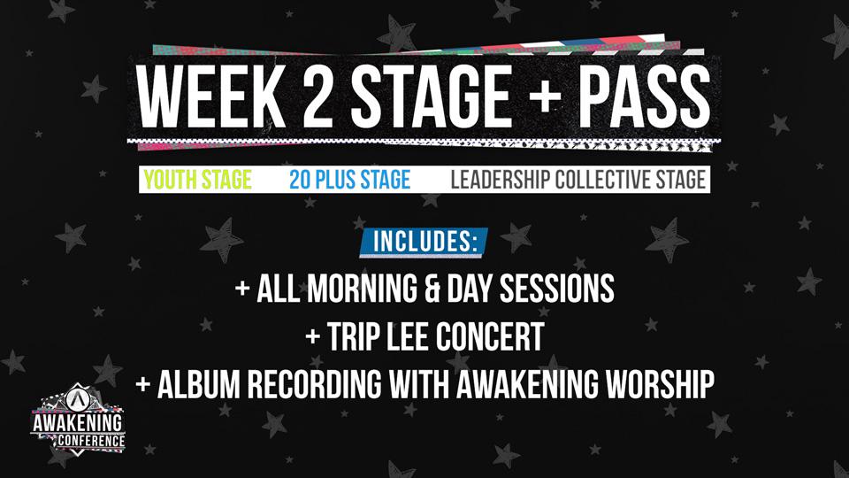Stage+ Week 2